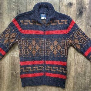 Vintage Pendleton Original Westerly Wool Cardigan